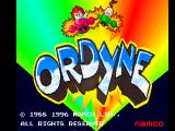 Namco Museum Vol.4 PlayStation Ordyne title screen