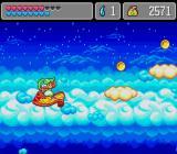 Monster World IV Genesis Riding a magic carpet