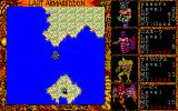Last Armageddon PC-98 Certain demons can cross water, but those in the party who can't will die...
