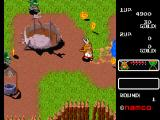 Namco Museum Vol. 5 PlayStation Legend of Valkyrie - Fighting goblins.