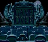 "Addams Family Values Genesis Nice ""Game Over"" screen..."