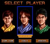 3 Ninjas Kick Back Genesis Choose your ninja.
