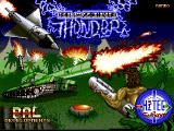 Blazing Thunder Amiga Title Screen 3