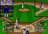 R.B.I. Baseball '94 Genesis The coach giving signals