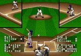 R.B.I. Baseball '94 Genesis Pitch coming over the plate