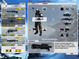 Battlefield 2142: Booster Pack - Northern Strike Windows Kit load prep before entering Port Bavaria