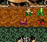 Nicktoons Racing Game Boy Color The Wild Thornberrys environment