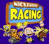 Nicktoons Racing Game Boy Color Title screen