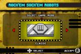 Rock 'Em Sock 'Em Robots Game Boy Advance Main menu