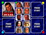 WWF in Your House PlayStation Roster
