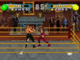 WWF in Your House PlayStation Exchanging punches.