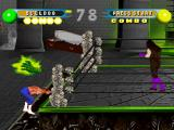 WWF in Your House PlayStation Giant green hand attack