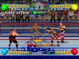 WWF in Your House PlayStation Two-players cooperative mode