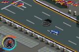 Hot Wheels: All Out Game Boy Advance Trying my best not to hit the manhole...
