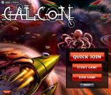 Galcon Browser Title screen