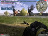 Battlefield 2: Booster Pack - Armored Fury Windows Eurocopter EC635 strafing the open air mall.
