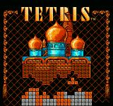Tetris NES Title screen