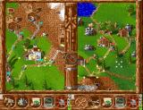 Serf City: Life is Feudal Amiga A 2-player game, in split-screen mode