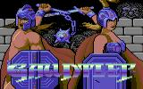 Gauntlet Commodore 64 Title screen