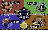 Gauntlet Commodore 64 Choose a character