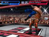 WWF Smackdown! 2: Know Your Role PlayStation Al Snow vs. Perry Saturn