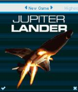 Jupiter Lander J2ME Title screen