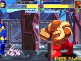 X-Men: Children of the Atom DOS After beating 6 opponents (out of the 10 characters), you will fight the first boss, Juggernaut. He is slow, but his moves have a far reach and deal a lot of damage