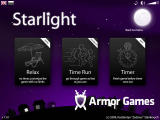 Starlight Browser Game mode selection