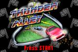 Thunder Alley Game Boy Advance Title screen