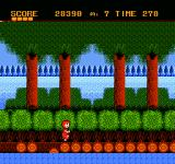 Donald Land NES Watch out on the collapsing bridge