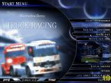 Mercedes-Benz Truck Racing Windows Menu
