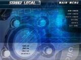 Street Legal Windows Menu