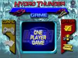 Hydro Thunder PlayStation Main menu