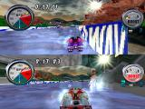 Hydro Thunder PlayStation Two-players mode