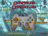 Hydro Thunder PlayStation Controller configuration