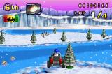 LEGO Racers 2 Game Boy Advance In-Game Arctic