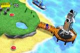 LEGO Racers 2 Game Boy Advance Map Screen
