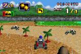 LEGO Racers 2 Game Boy Advance In-game Dino Island