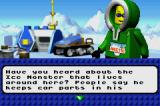 LEGO Racers 2 Game Boy Advance Conversation Screen