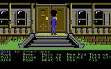 Maniac Mansion Commodore 64 Sneaking into the mansion...