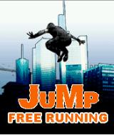 Jump: Free Running J2ME Title screen