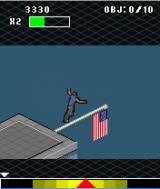 Jump: Free Running J2ME Balancing on the flagpole