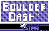 Boulder Dash Commodore 64 Title screen