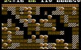Boulder Dash Commodore 64 Be careful not to trap yourself...or is there still a way out?