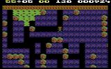 Boulder Dash Commodore 64 That green slime slowly takes over the screen...