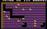 Boulder Dash Commodore 64 When smashed with a boulder, the butterflies turn into diamonds