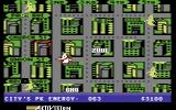 Ghostbusters Commodore 64 Map of the city
