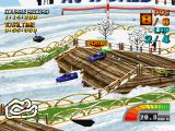 RC de GO! PlayStation Snow Square course