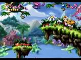 Rayman SEGA Saturn Finishing first level