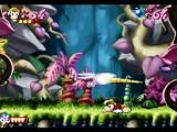 Rayman SEGA Saturn Battle the Boss Mosquito must get 5 punches in to defeat